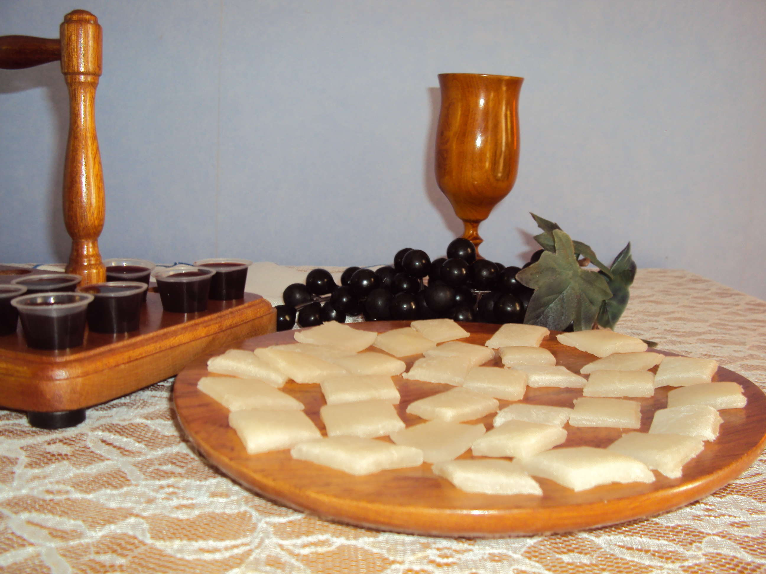 Gluten Free Communion Bread Debbrammer